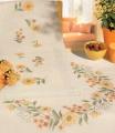 X St Autumn Wreath Cloth 80/80