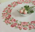 Xst Roses Wreath Cloth Kit 90cm x 90cm