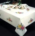 *NEW* Rose Classic Tablecloth 58