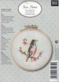 Xst Fantasy Bird Linen Picture Kit (emb hoop incl)