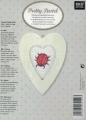 **NEW Xst Ladybird Aida Picture Kit (Heart Frame incl)