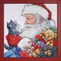 **NEW** Santa with Kitten Picture Kit