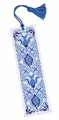 ** NEW ** Delft Blue Bookmark Kit